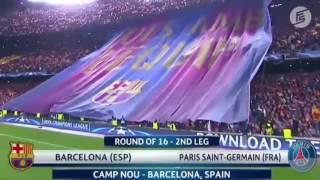 Trận lội ngược dòng kịch tính nhất lịch sử cúp C1 Barcelona 6 1 PSG 2016/2017