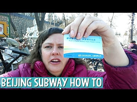 How To Get around Beijing by Subway