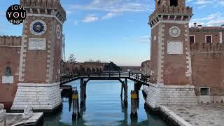 Live Walking in Castello East Venice - Arsenale, Giardini and Sant'Elena
