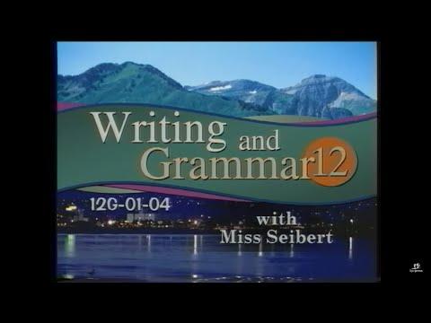 Grade 12 Writing & Grammar