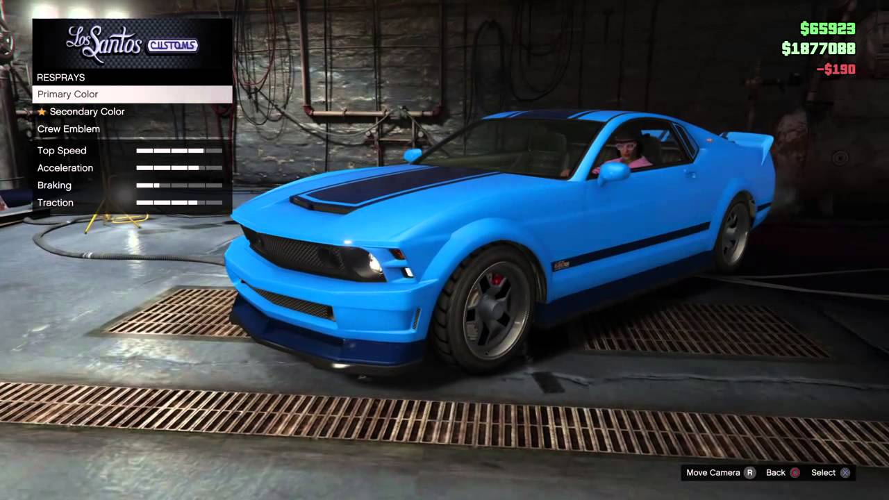 Gta V Online The Unaffiliated Ultra Blue Dominator Ps4 Xb1 Hd You