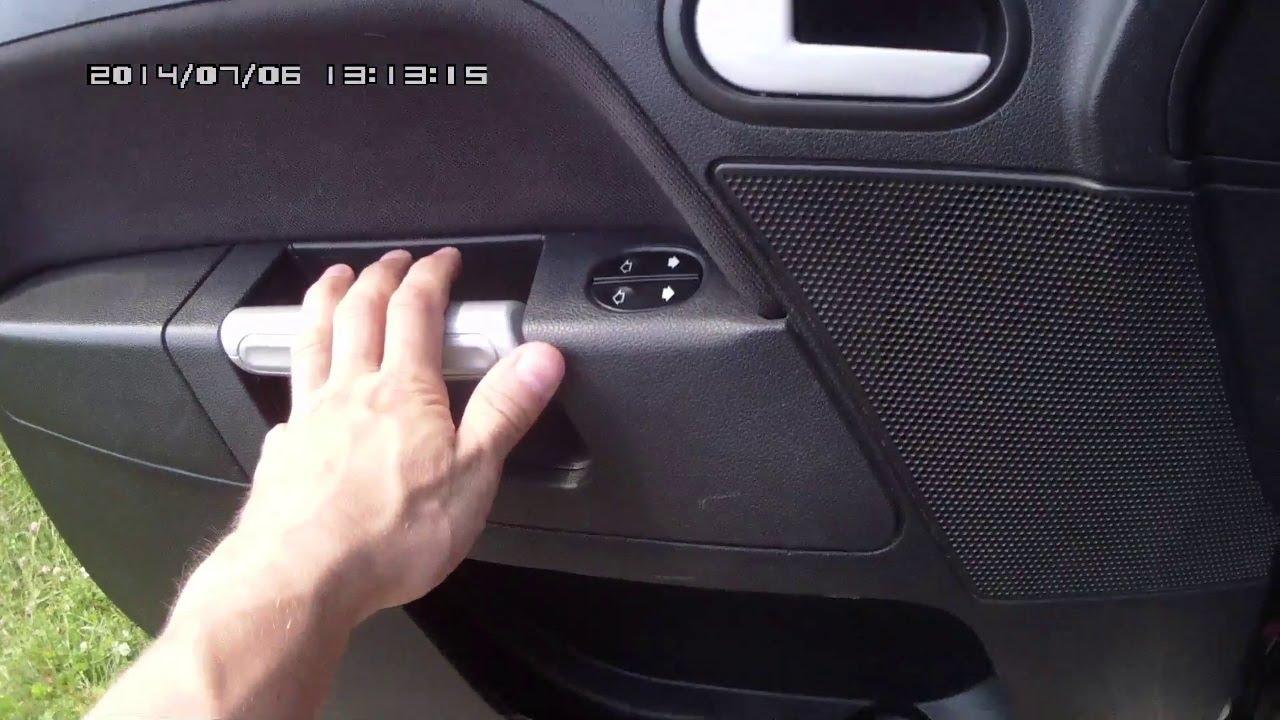 Как снять обшивку двери на форд фьюжн