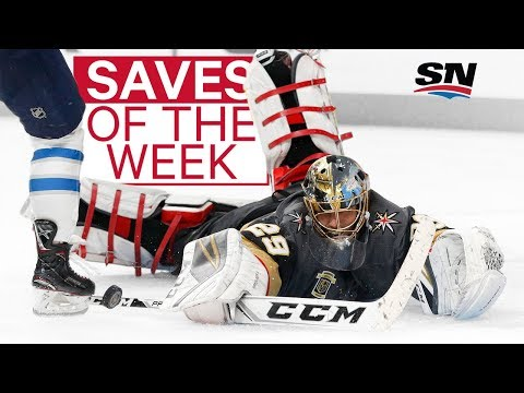 NHL Saves of the Week: Fleury defies logic and gravity