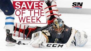 NHL Saves of the Week: Fleury defies logic and gravity