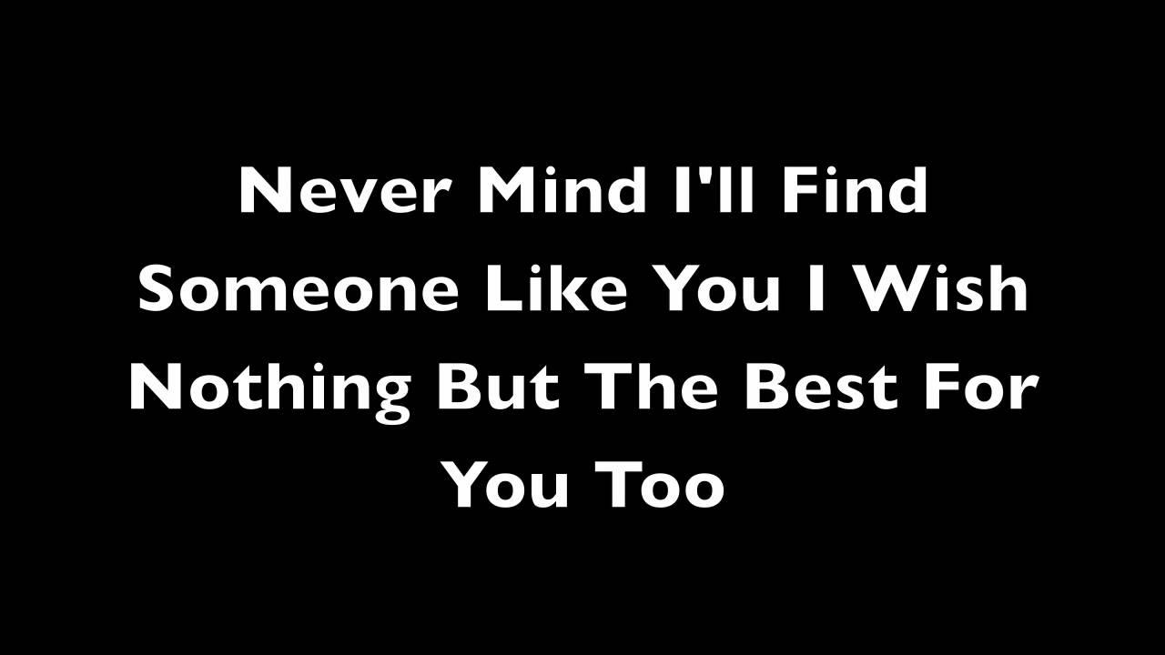 Someone Like You Adele Lyrics Youtube