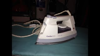 Philips Comfort 200 HD1492/B Steam Iron - Overview u0026 Demonstration + Shoutouts!