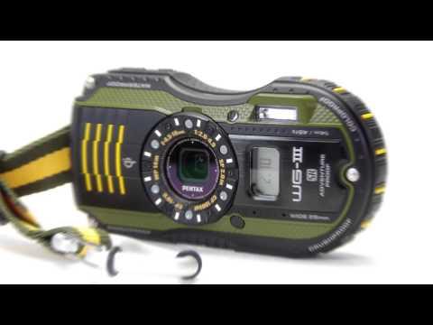 Orange 12695 Pentax WG-3 Compact Camera Kit
