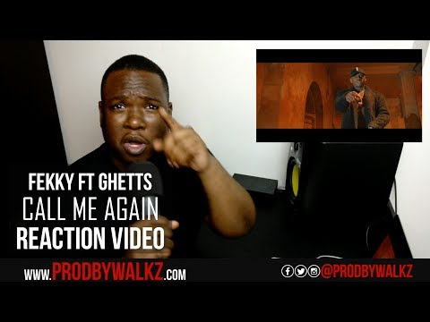 Fekky x Ghetts - Call Me Again [Music Video] | GRM Daily Reaction