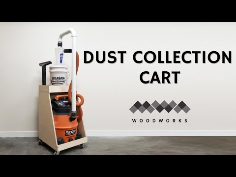 HOW TO MAKE A DUST COLLECTION CART