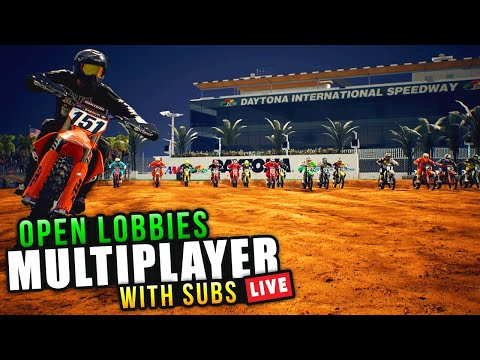 All About The Crazy Races - Multiplayer Open Lobby Racing! - Monster Energy Supercross 3 Gameplay