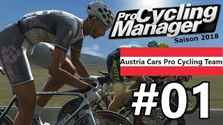 Pro Cycling Manager 2018 - #01 | Tour Down Under, 1. Etappe [GER]