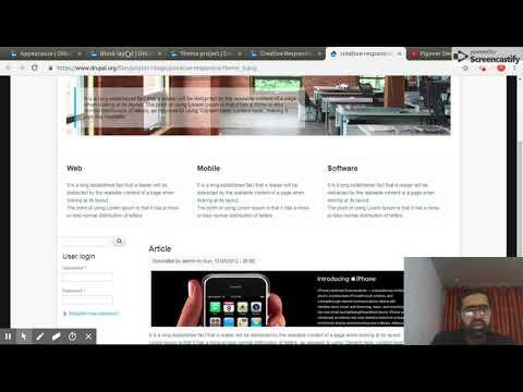 Learn Website Development Fast! Make Website Design Part 1/2 in Urdu Drupal Theming thumbnail