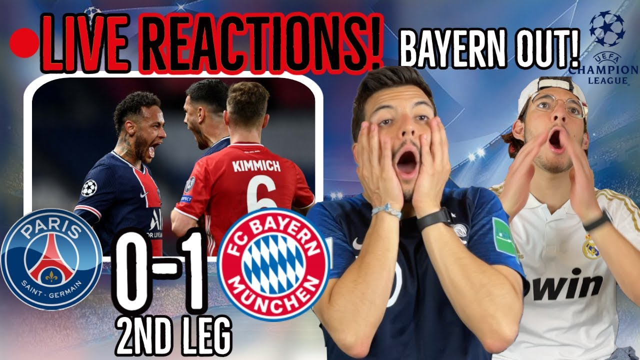🚨[LIVE FAN REACTION] to Bayern Munich 1-0 PSG / The CHAMPIONS of Europe are ELIMINATED