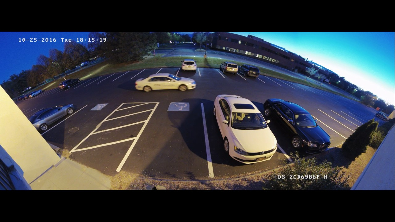 Hikvision 8MP DarkFighter Camera Night Performance - YouTube