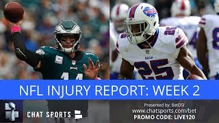 nfl injury news