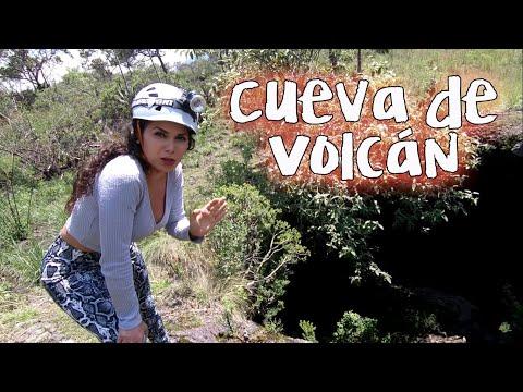 Asì es una cueva de lava dentro de un volcán, Ajusco - Laberinto