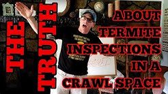 The TRUTH About Termite Inspections In A Crawl Space