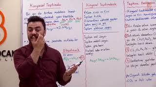 48)Görkem ŞAHİN - Kimyasal Tepkimeler (TYT-Kimya) 2020