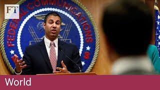 US regulators approve plan to roll back net neutrality