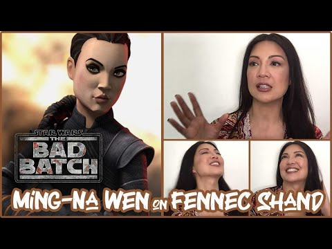 Ming-Na Wen on Fennec Shand in The Bad Batch - MidSeason Press Roundtable