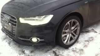 Оригинальные светодиодные противотуманные фары для автомобилей Audi A6/A7 4G A8 4H.(, 2013-12-12T12:13:05.000Z)