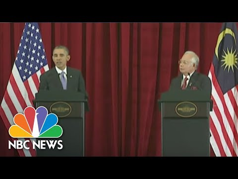 Flashback: President Obama Discusses Human Rights In 2014 Malaysia News Conference | NBC News