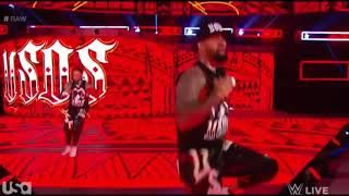 The Usos sings their theme song
