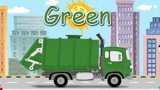 Garbage Truck for Children - learn colors and garbage truck (Songs For Children)
