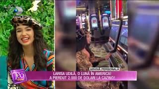 Teo Show (15.01.2019) - Larisa Udila, o luna in America! A pierdut 2000 de dolari la cazin ...