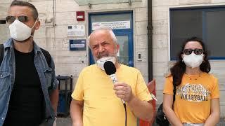 L'ass. Daniela D'Ercole dona camici ospedalieri ai medici del Bonomo