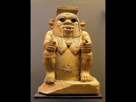 Bes, Beset, Aha. Dwarf gods of Ancient Egypt.  