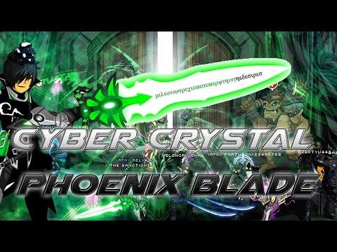 AQW: Getting the Cyber Crystal Phoenix Blade