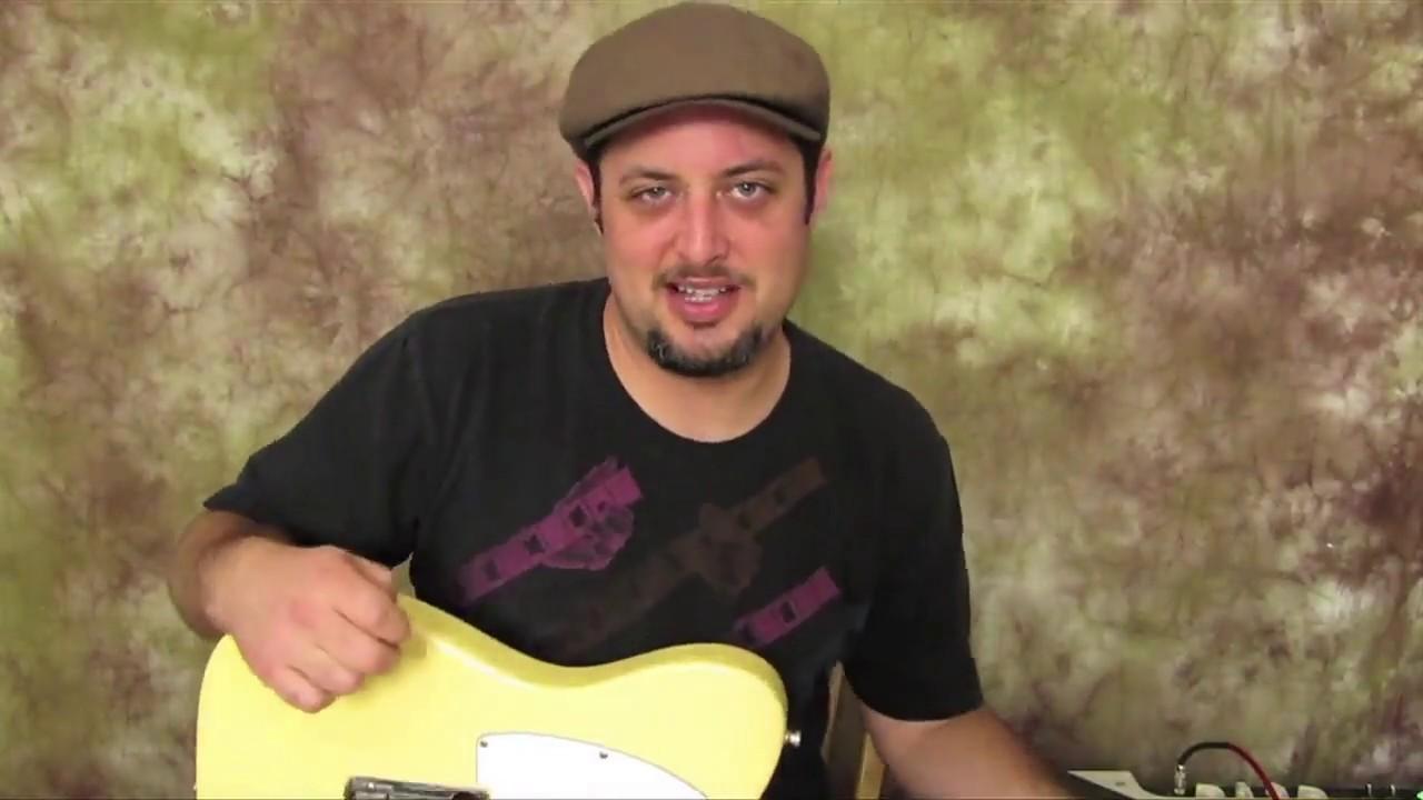 Beginner Blues Guitar Riff Key Of C Plus Bonus Backing Tracks