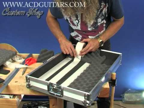 electric guitar effects pedal board using pedalboots for holding the effects pedals youtube. Black Bedroom Furniture Sets. Home Design Ideas