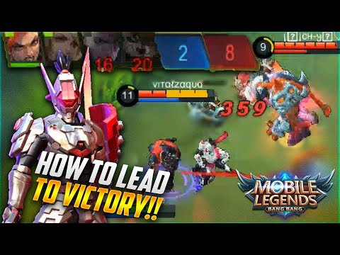 LEAD YOUR TEAM TO WIN EVERY GAME WITH SABER! Mobile Legends Saber Ranked Gameplay