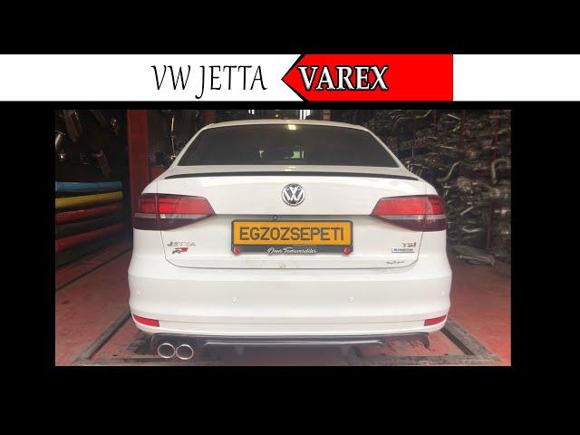 VW JETTA 1.4 KUMANDALI VAREX EGZOZ SESİ