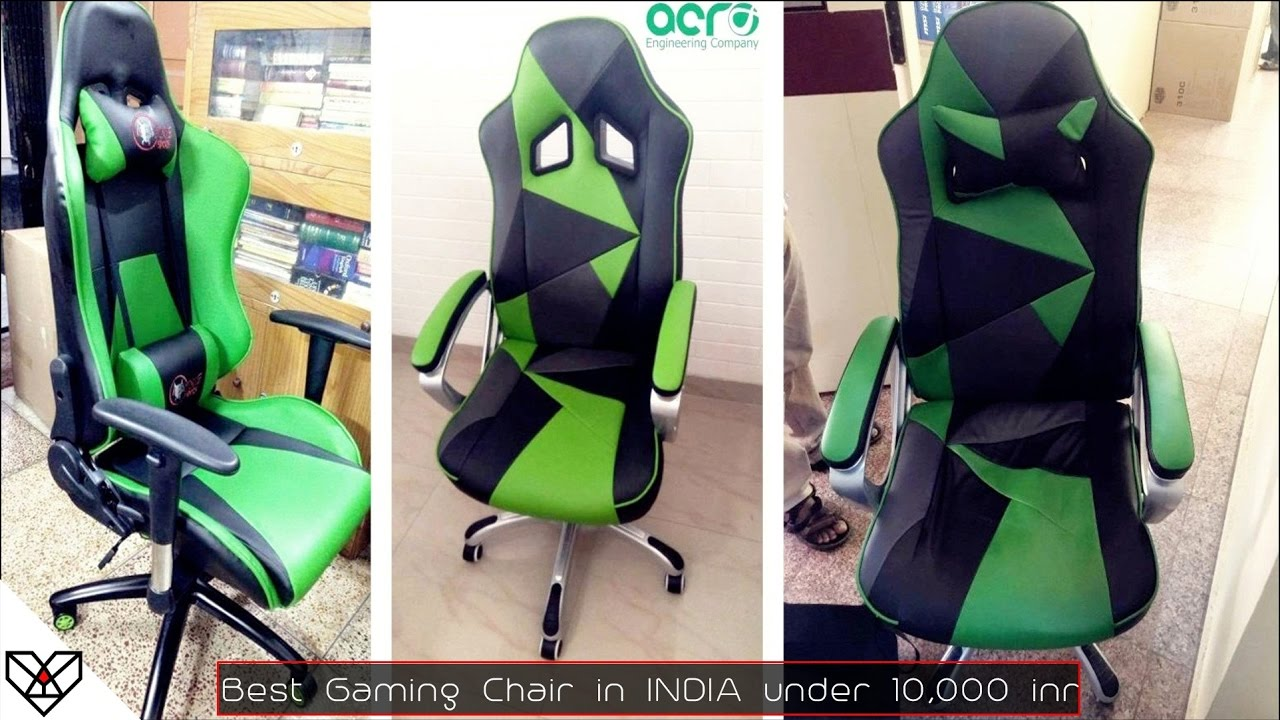 Best Racing Gaming Chair you can buy in INDIA