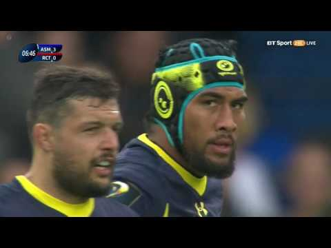 Clermont vs Toulon 02.04.2017 European Rugby Champions Cup - Play Offs