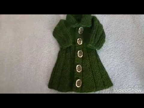 83b155b84 Simple and attractive frock top design easyli how to make woolen ...