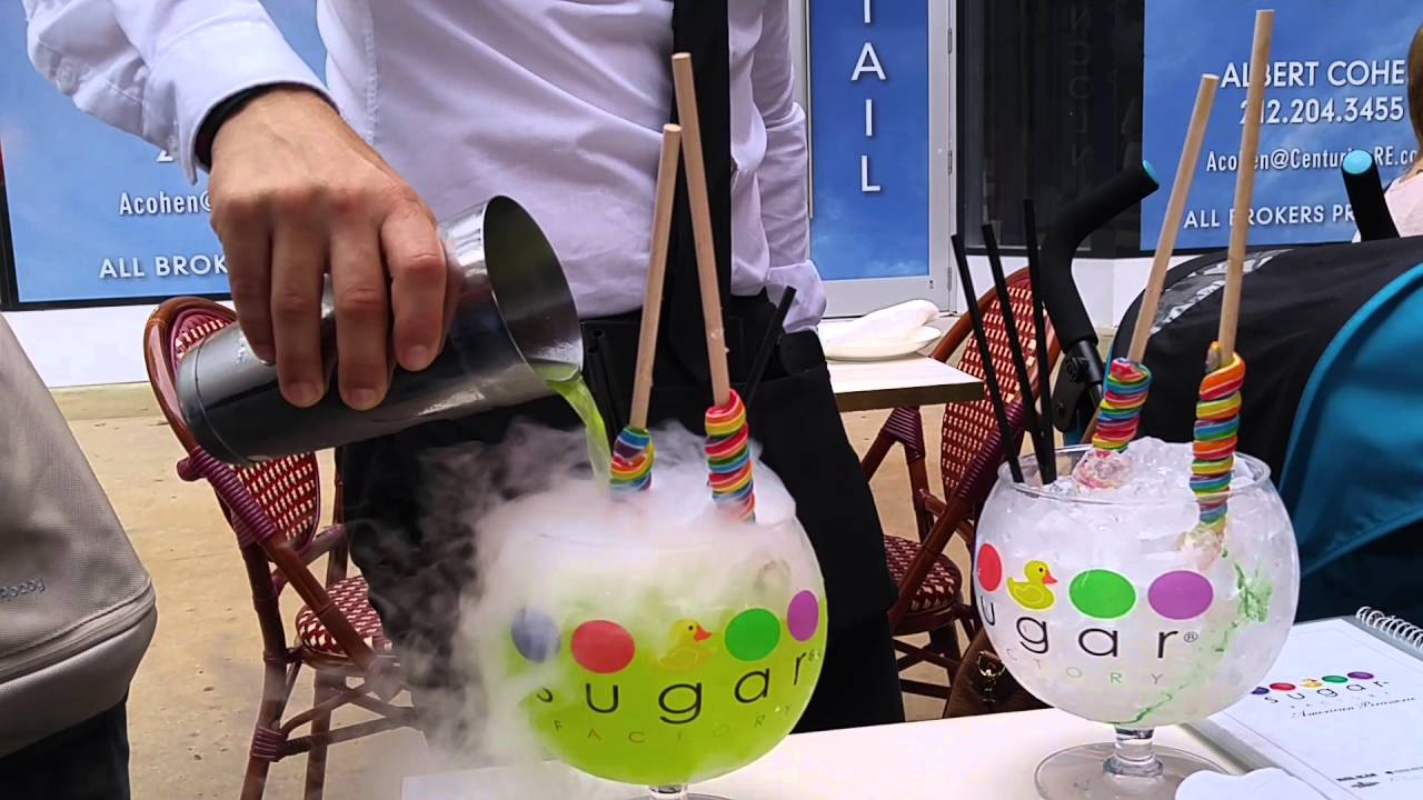 Sugar Factory Drinks Youtube