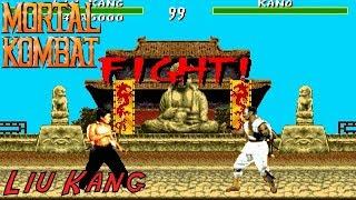 Mortal Kombat - Liu Kang Playthrough (Sega Genesis)