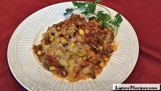 Mexican Skillet Dinner - One Pot Dinner -  Lynn's Recipes