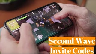 Fortnite mobile code second wave coming soon 3/17 Code giveaways