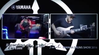 Miki Santamaria vs Miki Santamaria - Live @ Yamaha Drums Show 2016