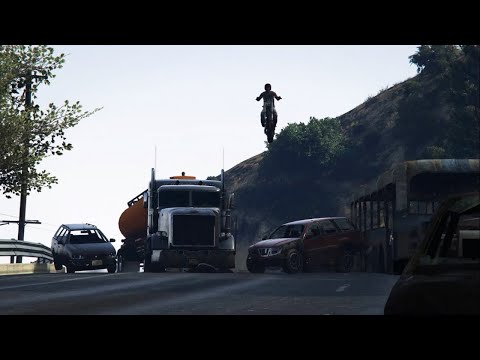 GTAV: Road Warrior (Rockstar Editor/Cinematic)