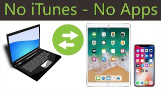 (Updated)How to Transfer FiĮes From PC to iPhone - iPad - iPod (Without iTunes - Without Program)!