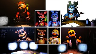 Five Nights at Freddy's Rockstar Animatronic Interviews