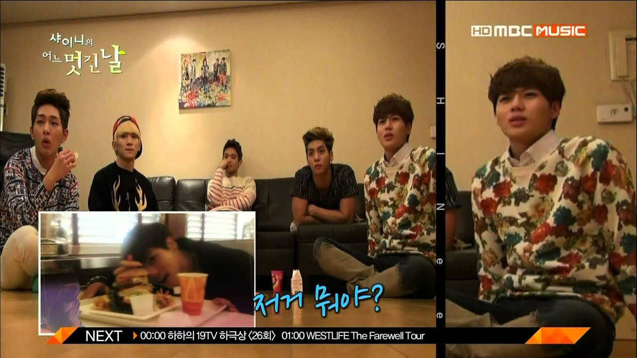 Download SHINee`s one fine day #6 Minho cut 03 - SHINee watches one fine day