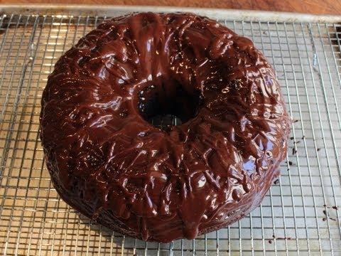 Chocolate Sour Cream Bundt Cake - Easiest Chocolate Cake Recipe Ever!