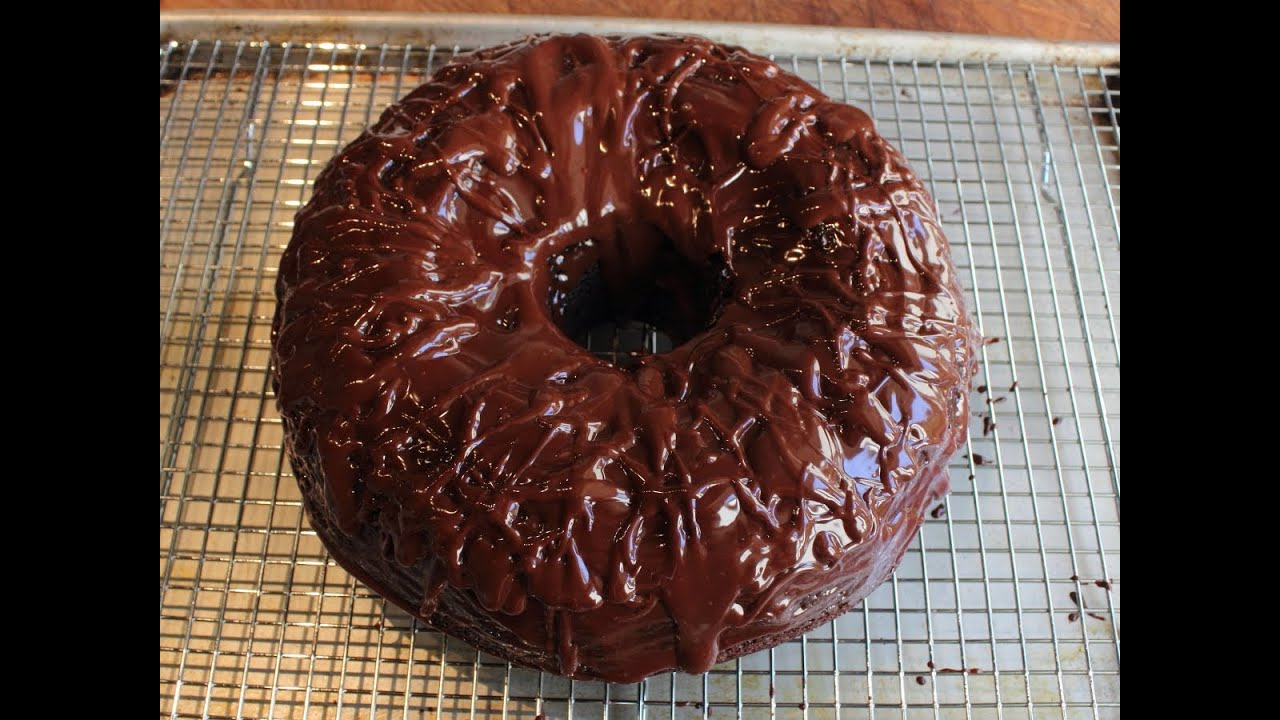 Food Wishes Chocolate Bundt Cake